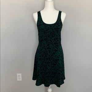 Winter floral dress from eyelash couture - Size M
